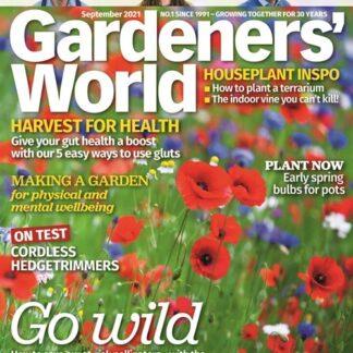 BBC Gardeners' World tarjous BBC Gardeners' World lehti