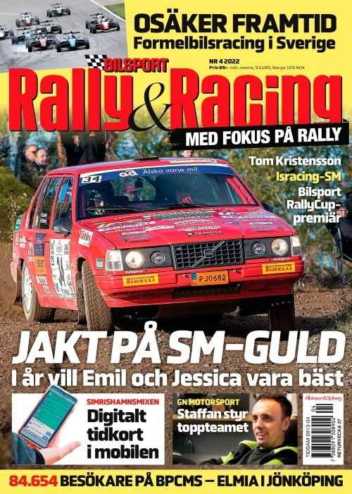 Bilsport Rally & Racing tarjous