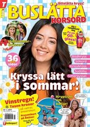 Buslätta Korsord 6 nro tarjous