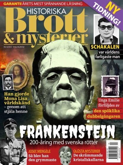 HISTORISKA Brott & mysterier tarjous HISTORISKA Brott & mysterier lehti