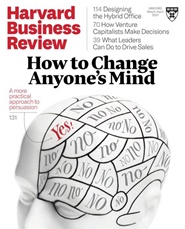 Harvard Business Review 6 nro tarjous