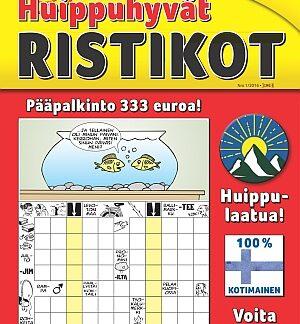 Huippuhyvät Ristikot tarjous Huippuhyvät Ristikot lehti