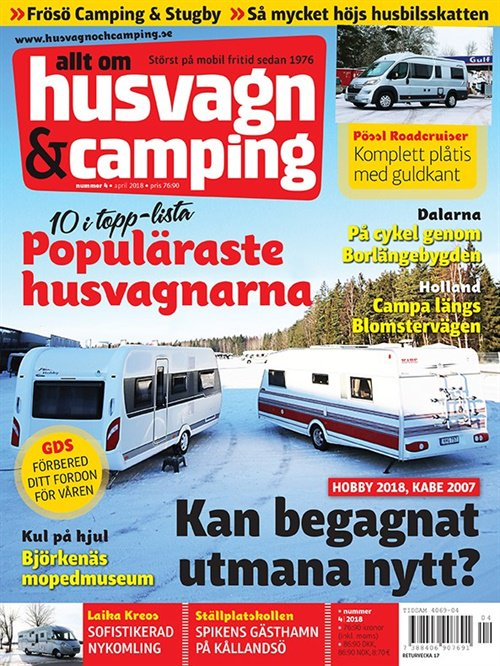Husvagn & Camping tarjous