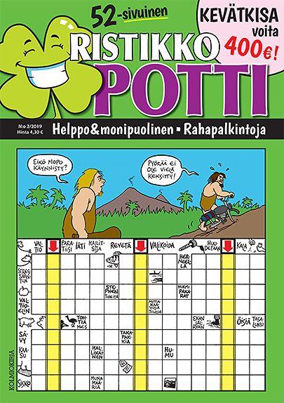 Ristikko-Potti tarjous Ristikko-Potti lehti