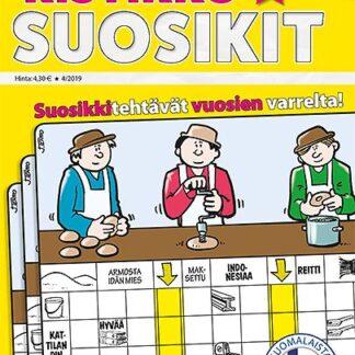 Ristikko-Suosikit tarjous Ristikko-Suosikit lehti