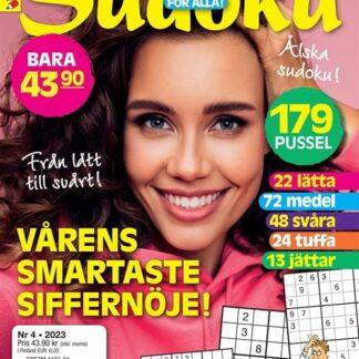 Sudoku för alla tarjous Sudoku för alla lehti