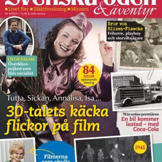 Svenska Öden & Äventyr tarjous Svenska Öden & Äventyr lehti