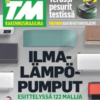 TM Rakennusmaailma tarjous TM Rakennusmaailma lehti